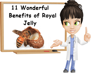 Royal jelly uses