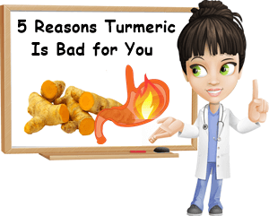 Turmeric bad for you