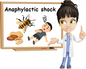 Anaphylactic shock causes