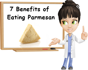Benefits of eating parmesan