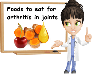 Foods to eat for arthritis in joints