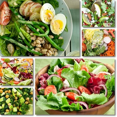 Salad benefits for health