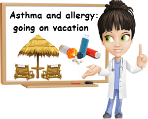 Asthma and allergy vacation advice