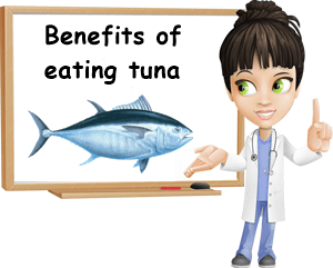Benefits of eating tuna