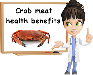 Crab meat health benefits