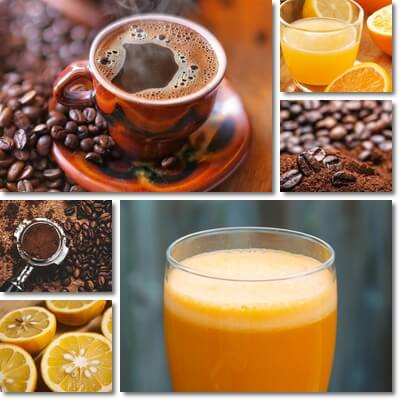 Orange Juice or Coffee in the Morning?