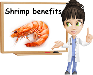 Shrimp benefits