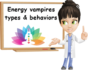 Energy vampires types and behaviors