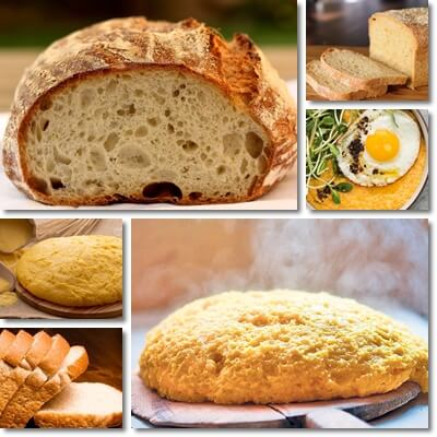 Polenta or bread