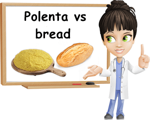 Polenta vs bread for health