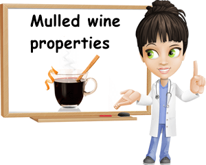Mulled wine properties