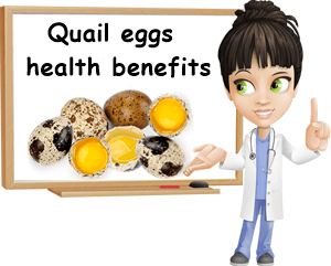 Quail eggs health benefits