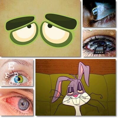 Tired eyes causes