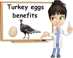 Turkey eggs benefits