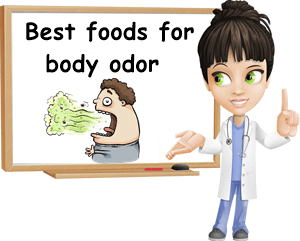 Best foods for body odor