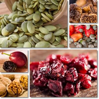 Dried fruits nuts side effects