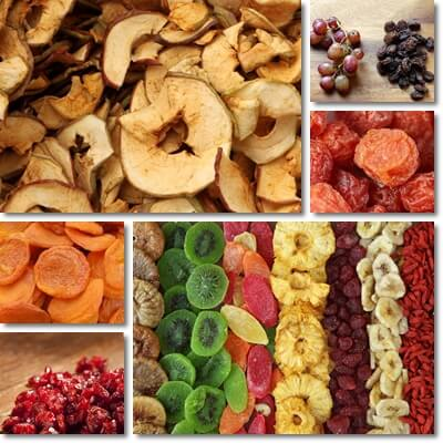 Healthiest dried fruit