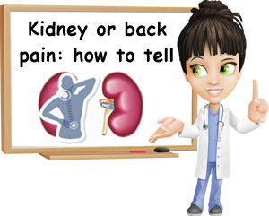 Kidney pain or back pain how to tell