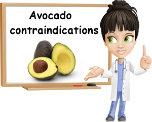 Avocado contraindications