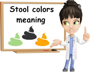 Stool colors meaning