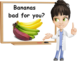 Eating bananas bad for you