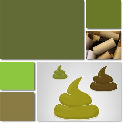 Green stool color meaning