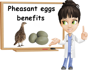 Pheasant eggs benefits