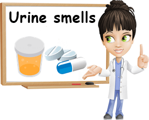Urine smells causes
