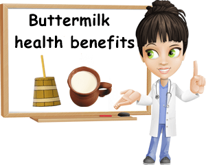 Buttermilk health benefits