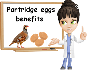 Partridge eggs benefits