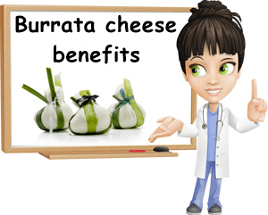 Burrata benefits