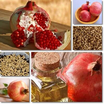 Pomegranate seed oil health benefits