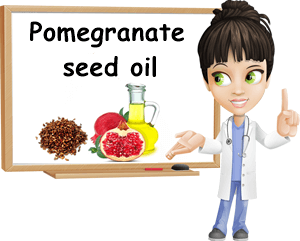 Pomegranate seed oil uses