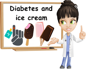 Diabetes and ice cream