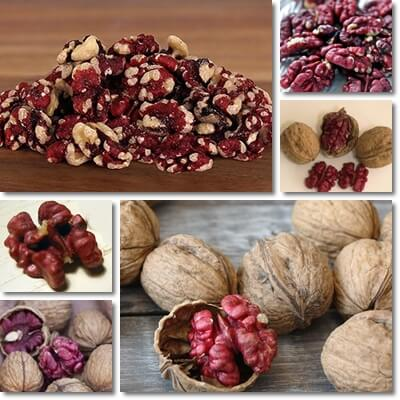 Red walnut nutrition