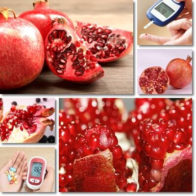 Can diabetics eat pomegranate