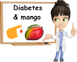 Diabetes and mango