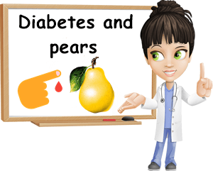 Diabetes and pears