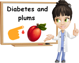 Diabetes and plums