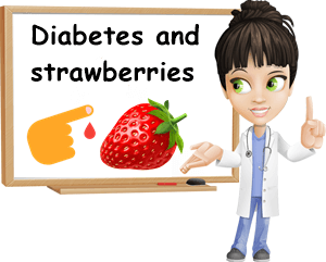 Diabetes and strawberries