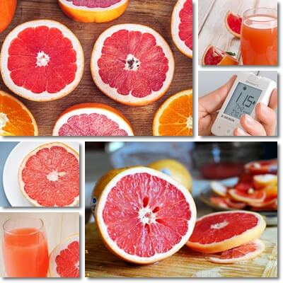 Diabetes grapefruit juice benefits