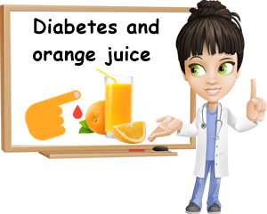 Diabetes orange juice
