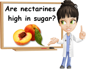 Are nectarines high in sugar