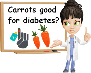 Carrots good for diabetes
