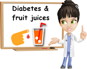 Diabetes and fruit juices