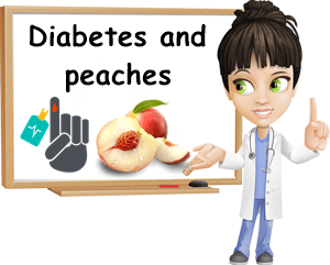 Diabetes peaches