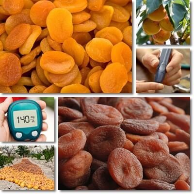 Dried apricots for diabetics