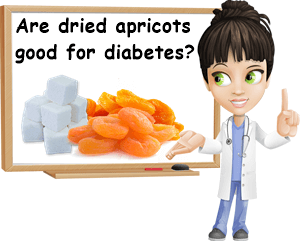 Dried apricots good for diabetes