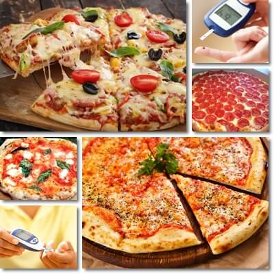 Eating pizza with diabetes effects