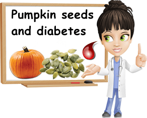 Pumpkin seeds and diabetes